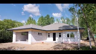 Обзор комфортного одноэтажного дома из газобетона в Хабаровске (Теплый дом \