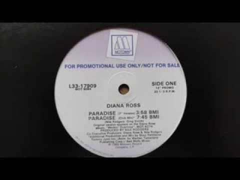 diana ross - paradise (12'' club mix)