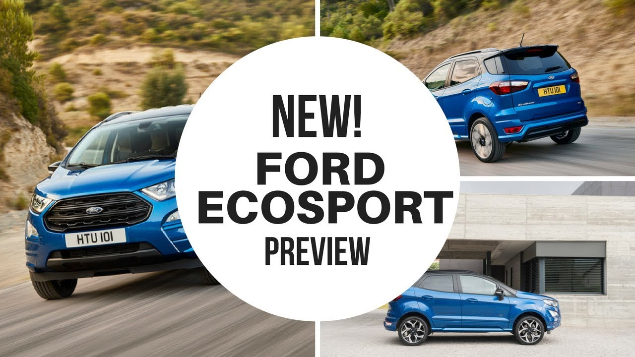 2018 ford uk. unique ford new 2018 ford ecosport 4x4  official and full uk version and ford uk