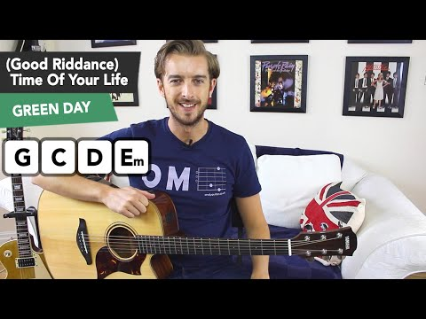 TIME OF YOUR LIFE Guitar Lesson Tutorial - GREEN DAY - Good Riddance (Time Of Your Life)