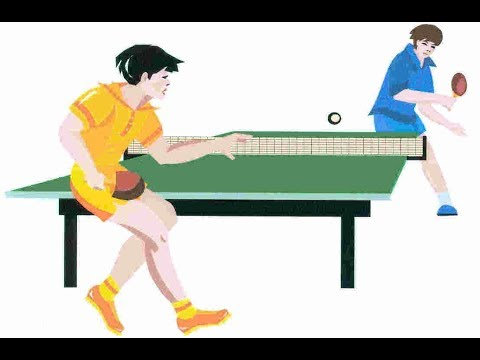 Latihan Pimpong Untuk menjadi atlit Profesional
