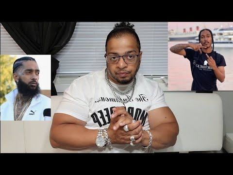 California Blood Indian Redboy Gets His TV Turned Off For Disrespecting Nipsey Hussle Memorial