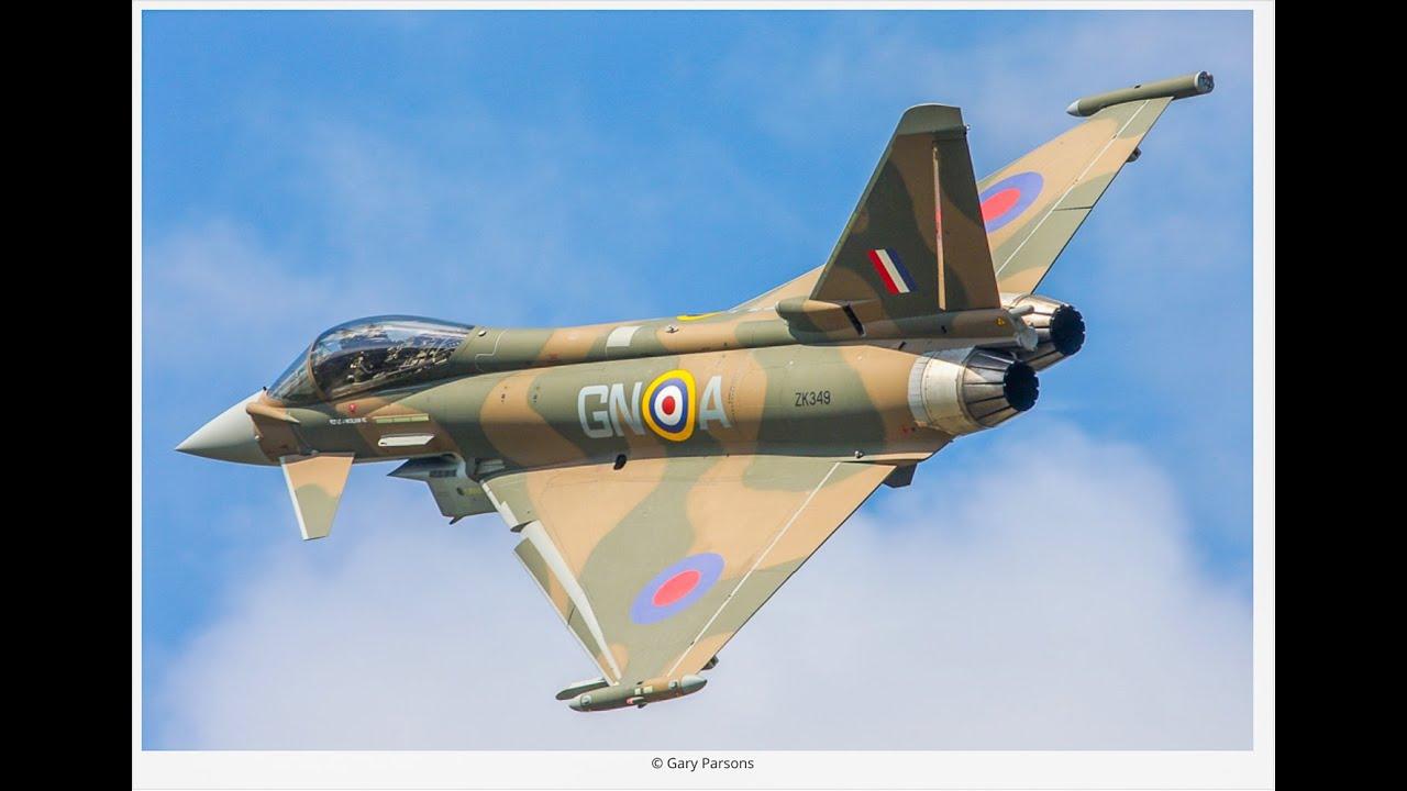 eurofighter typhoon amp spitfire synchro at biggin hill