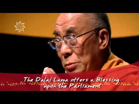 The Dalai Lama at the Parliament of the World