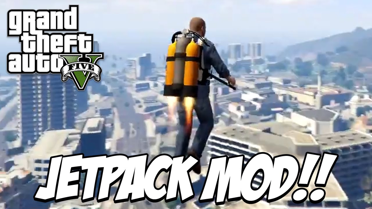GTA X Scripting: GTA V Jetpack mod