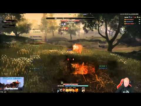 PvP Duel Templar vs Dragonknight for The Elder Scrolls Online