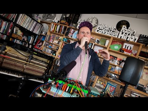 Dan Deacon: NPR Music Tiny Desk Concert