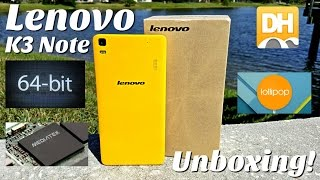 Lenovo K3 Note - [Hands on] - MTK6752 - 5.0 Lollipop - 5.5' FHD 1080P - 2GB/16GB - 13MP