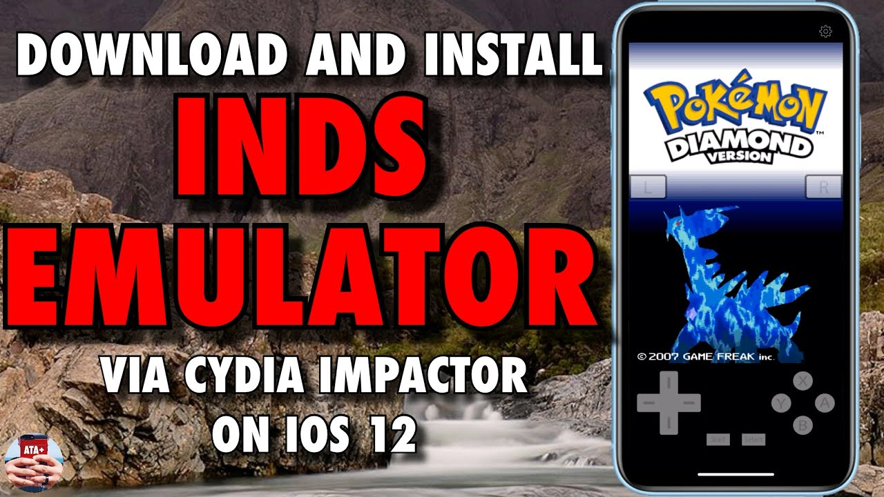 DOWNLOAD AND INSTALL INDS EMULATOR USING CYDIA IMPACTOR! NINTENDO DS  EMULATOR ON IOS 12!