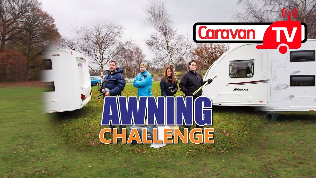 Awning Challenge Caravan Magazine Video Shootout Vango Varkala