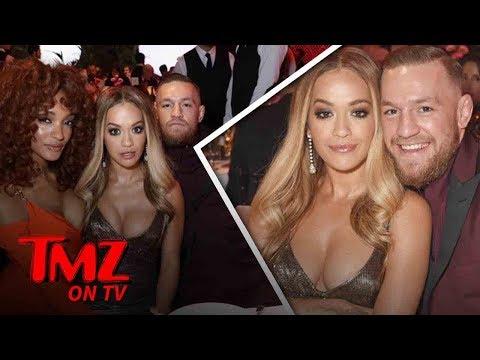 Rita Ora's Awkward Date Night With Conor McGregor   TMZ TV