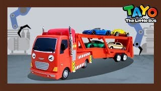 SuperCar Tayo Compilation #1 l Fire Truck becomes a Car Carrier l Tayo the Little Bus
