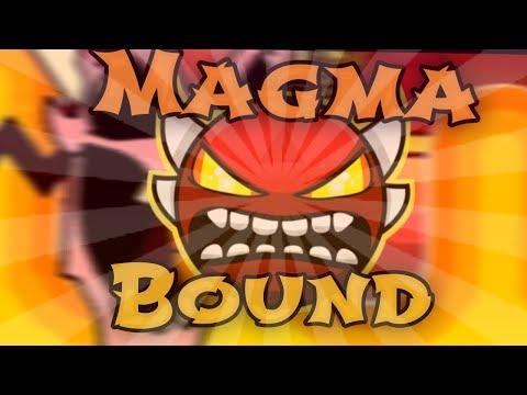 MAGMA BOUND 100% [INSANE DEMON] LETS GOOOO   Geometry Dash 2.1