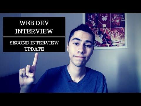 Web Developer Interview | Second interview update