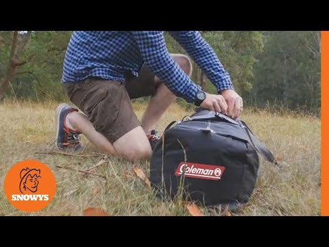 & Coleman Instant Up Tent - How to setup - YouTube