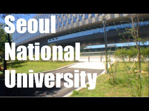 Sneak Peak: Seoul National University Campus - YouTube