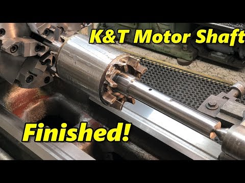 SNS 244: Electric Motor Shaft Finished
