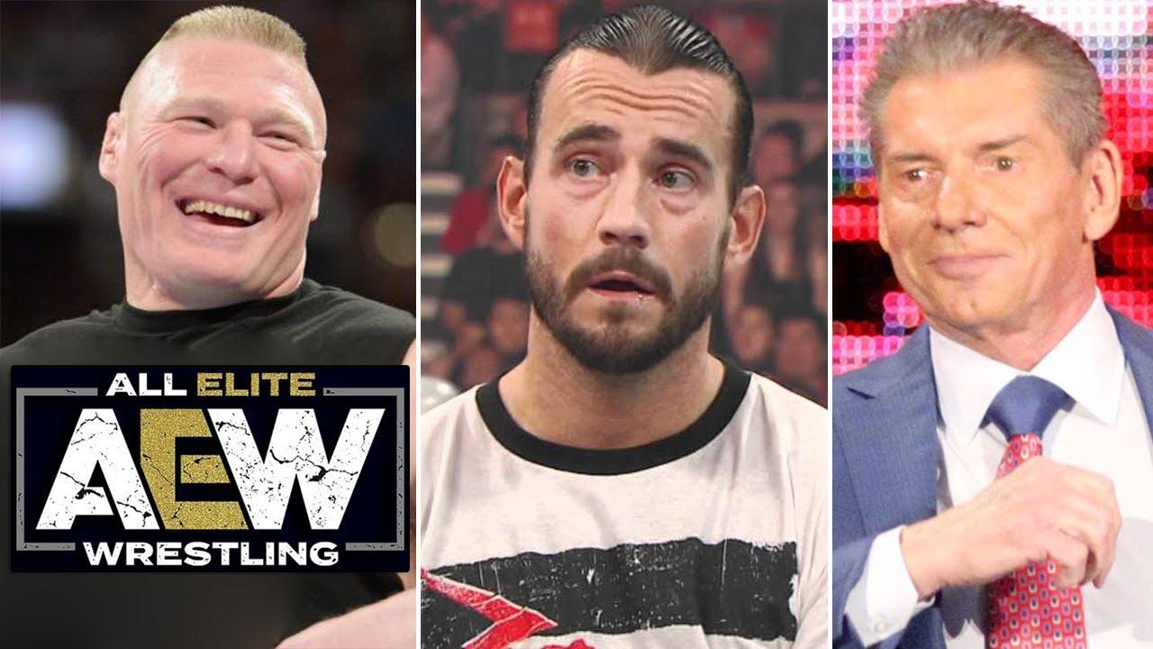 Brock Lesnar firma con AEW? WWE no necesita a CM Punk, Posibles planes para Becky Lynch, Kross
