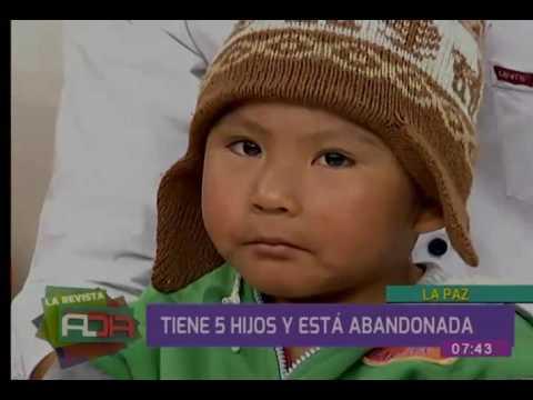 Mujer tiene cinco hijos y sufre por problemas económicos