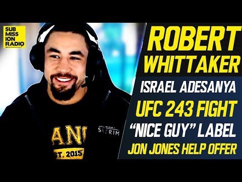Robert Whittaker won't get into trash talk with Israel Adesanya: 'I'm not a part of that little game'