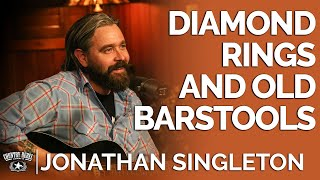 Jonathan Singleton - Diamond Rings and Old Barstools (Acoustic) // Fireside Sessions YouTube Videos
