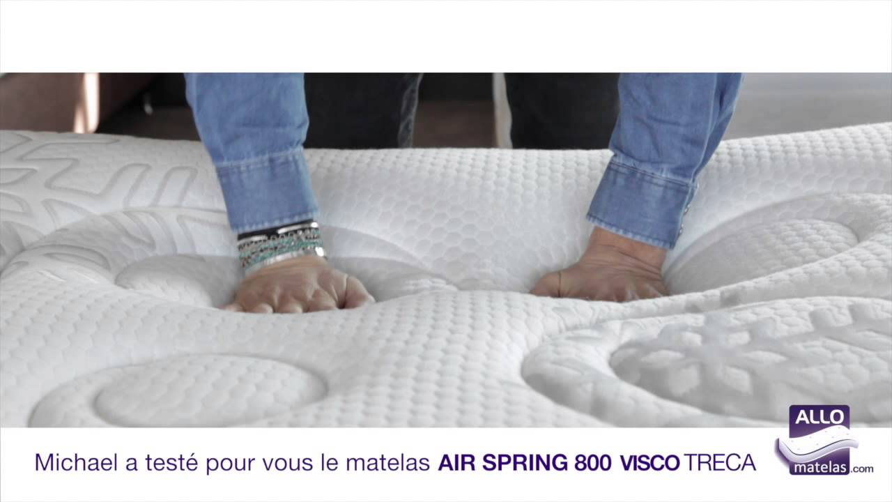Matelas air spring 800 visco feroe treca test par michael allomatelas y - Treca air spring 600 ...