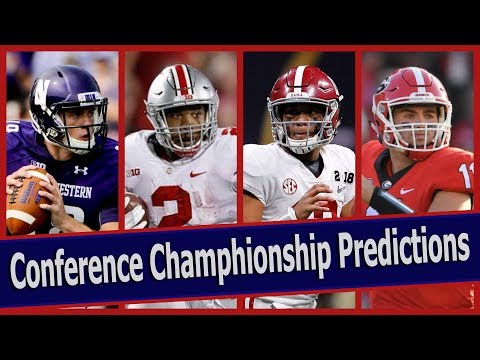 College Football Conference Championship Predictions