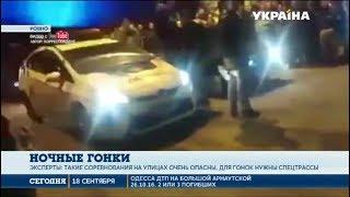 В Ровно полиция остановила уличные гоночные заезды