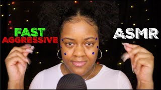 Fast and Aggressive ASMR Triggers for STRONG Tingles ♡