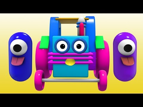 Color Names with Wooden 3D Truck & Wooden Toy | Educational Videos For Kids Toddlers By Color World