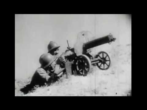 WW II 1942   This film documents why the US entered WW II with actual scene footage