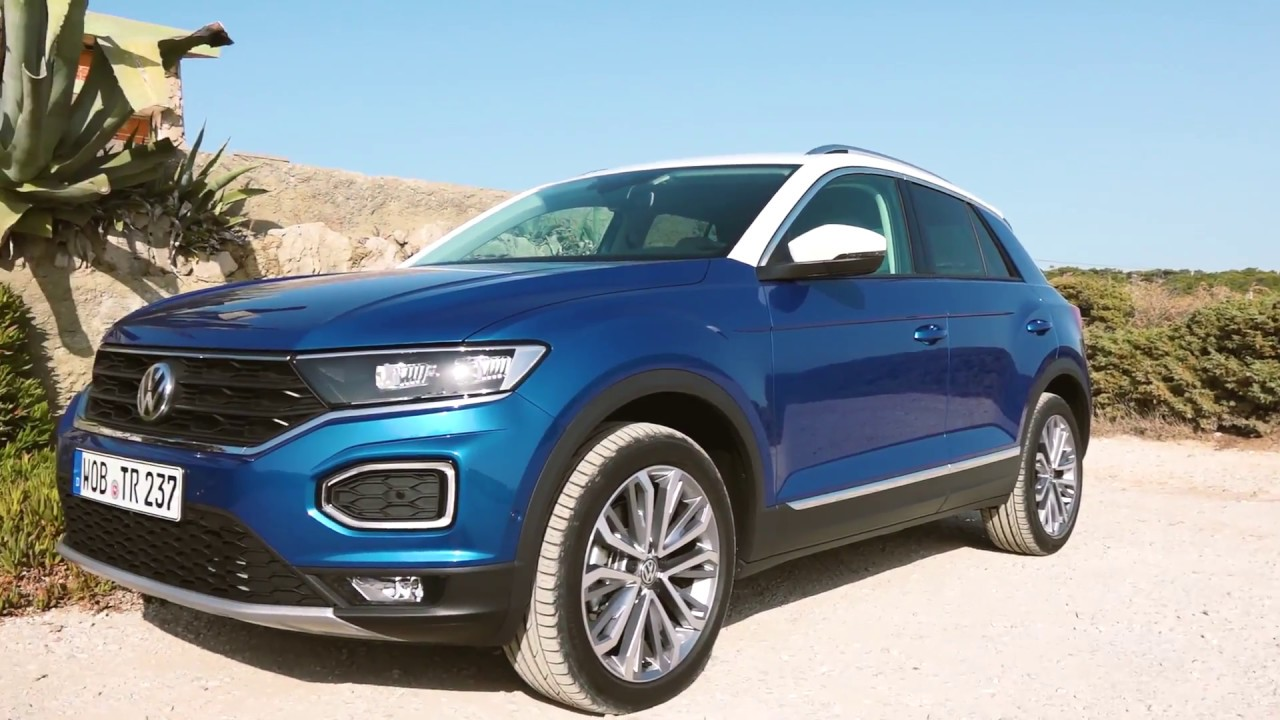 Vw T Roc 2017 Test Review Of The New Small Volkswagen Suv