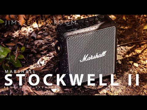 超值全新 黑色!! 最新二代IPX4防水※台北快貨※原裝 Marshall Stockwell II 2 攜帶式藍牙喇叭