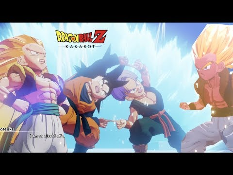 Gotenks Fusion And Super Saiyan transformations Dragon Ball Z Kakarot