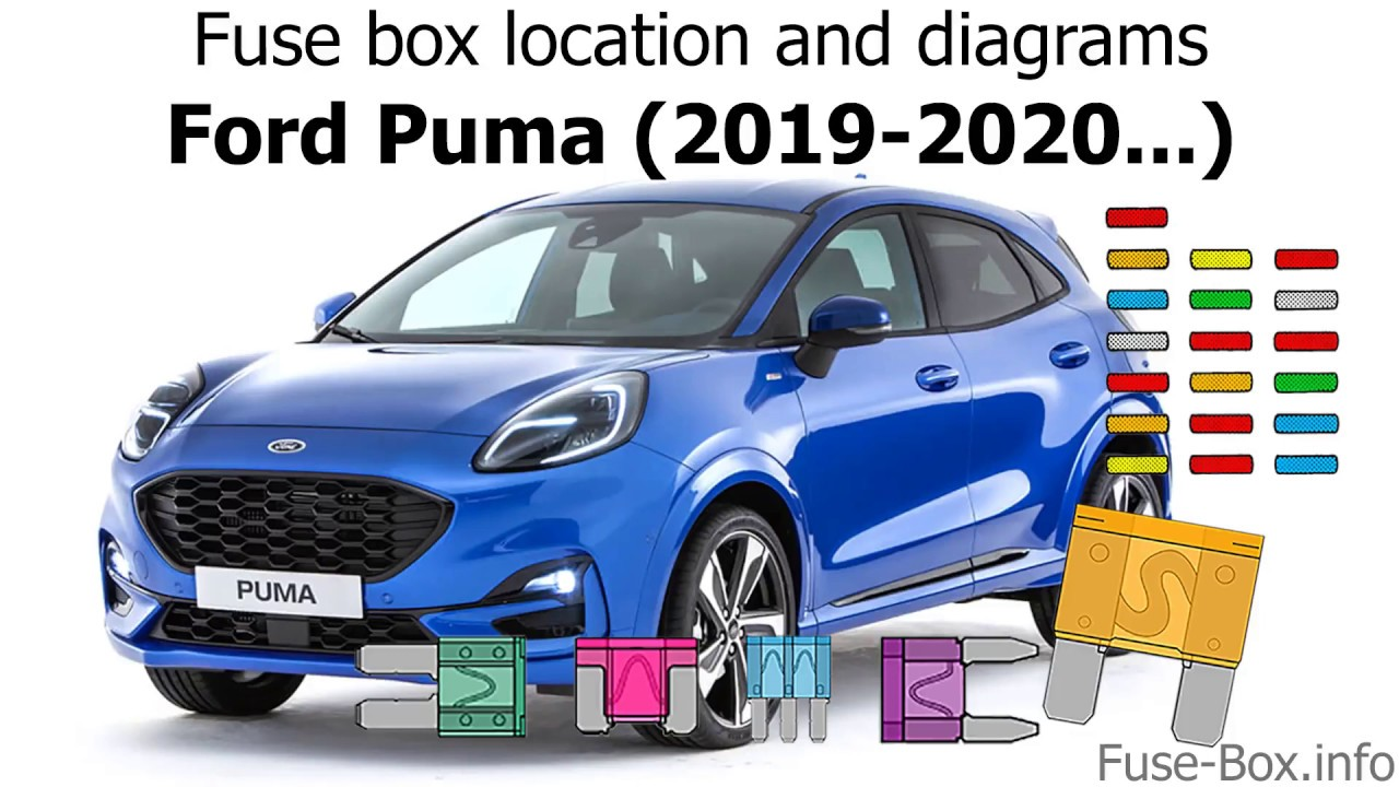 fuse box location and diagrams: ford puma (2019-2020...) - youtube  youtube