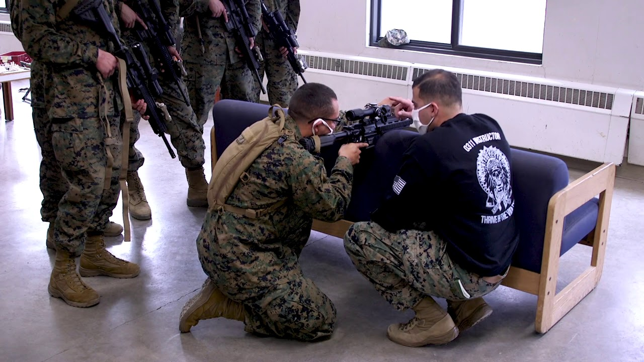 Download U.S. Marines with Alpha Company, Infantry Training Battalion, School of Infantry Course Week - 1.