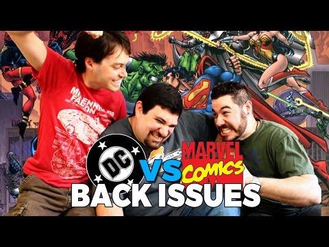 DC vs Marvel   Back Issues
