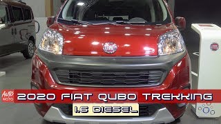 2020 Fiat Qubo Trekking 1.6 Diesel - Exterior And Interior - 2019 Automobile Barcelona