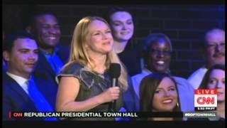CNN Republican Presidential Town Hall - Kasich, Bush, Trump - Columbia, SC (February 18, 2016)