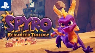 NO TO HOP DO DZIURY Spyro Reignited Trilogy #1 | PS4 | Gameplay | Year of the dragon