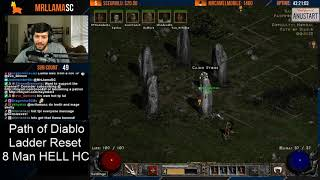 Download Video Path of Diablo HC LADDER RESET - Day 1 - Rank 1!! MP3 3GP MP4
