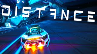 INSANE FUTURISTIC RACING! - Distance Beta Gameplay (Crashes and Funny Moments)