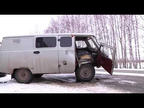Очередная авария на трассе Шарыпово Ужур