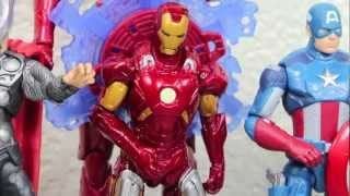 The Avengers Movie Series Iron Man Mark VII Fusion Armor Action Figure Toy Review