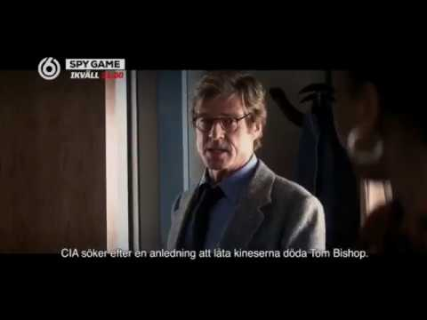 TV6 Sweden - Spy Game Movie Promo 2017 w/ TV Series cast of AXN's Absentia & Netflix Stranger Things