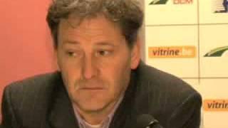 Persconferentie Lokeren-Club Brugge