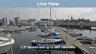 AXIS Q3617-VE vidéo
