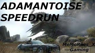 Final Fantasy XV Adamantoise Speedrun w/ MeMoRiies_X