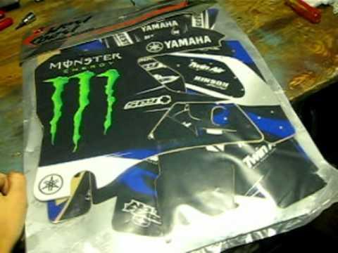YZ 125 Monster Energy Graphics