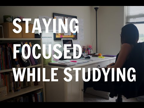 Med School Student Vlog: Tips on Staying Focused While Studying | How To Study Effectively